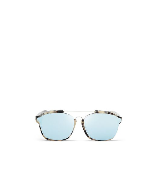 Dior | Blue Abstract Square Mirrored Sunglasses, 58mm | Lyst