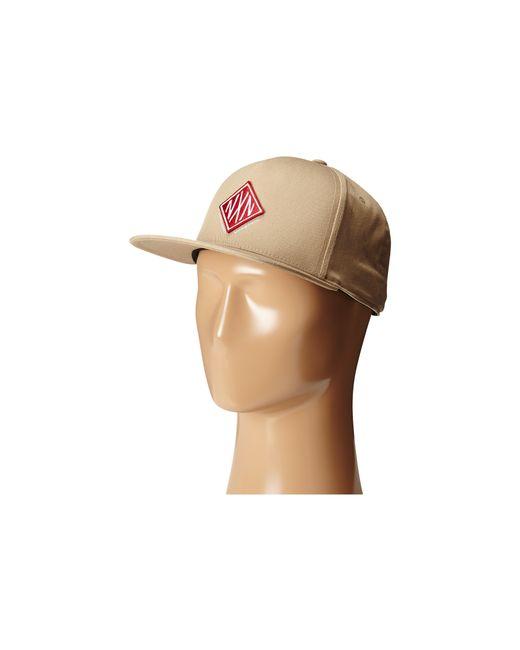Nixon | Natural Field 110 Snapback Hat for Men | Lyst