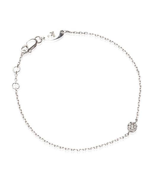 RedLine | White Diamond Illusion Chain Bracelet | Lyst