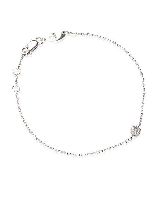 RedLine | White Diamond Illusion Chain Bracelet | Lyst