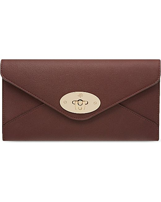 Mulberry   Purple Envelope Wallet - For Women   Lyst