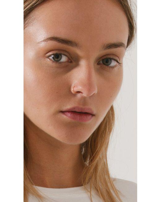 Saskia Diez | Metallic Faux Nose Ring | Lyst