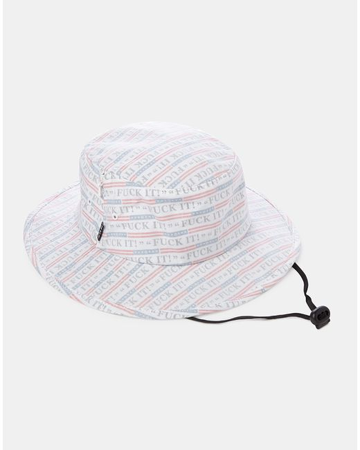 Huf | F*ck It Push Through Jungle Hat - White for Men | Lyst