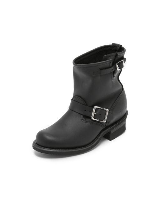 Frye   Black Engineer 8r Boots   Lyst