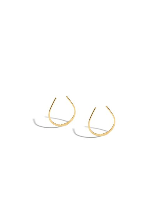 Melissa Joy Manning | Metallic 5/8 Inch Small Horse Shoe Hoops | Lyst