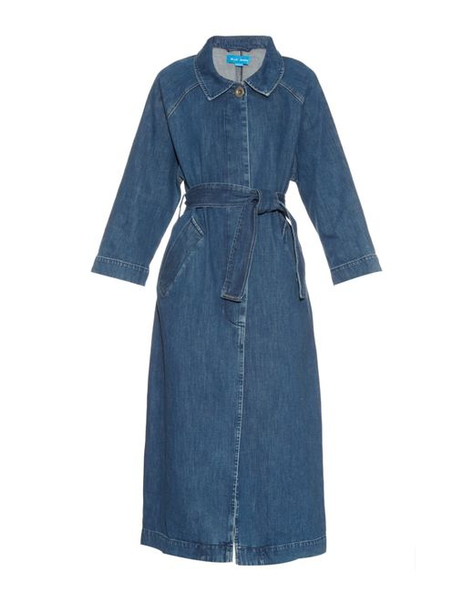 M.i.h jeans Raglan-sleeves Denim Coat in Blue | Lyst