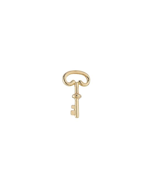 Aurelie Bidermann | Metallic 18kt Yellow Gold Key Earring | Lyst