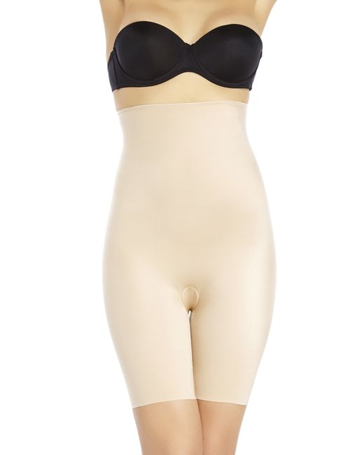 Spanx | Natural Simplicity High-Waisted Mid-Thigh Shaper | Lyst
