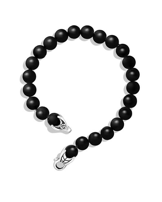 David Yurman | Spiritual Beads Bracelet With Black Onyx, 8mm for Men | Lyst