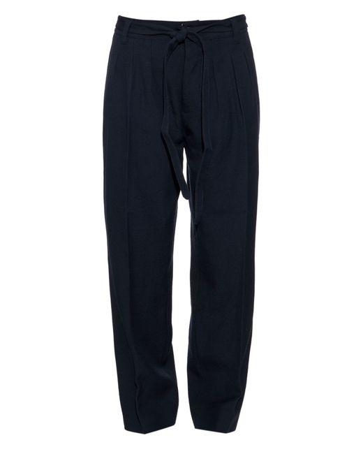 Visvim | Blue Hakama Wool Trousers | Lyst