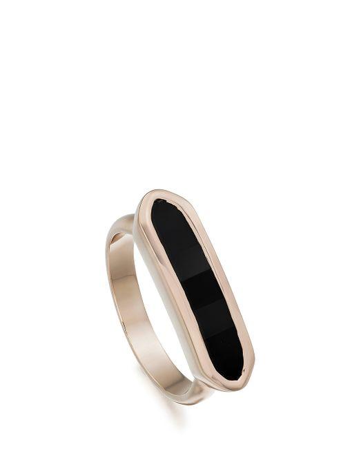 Monica Vinader   Black Baja Ring   Lyst
