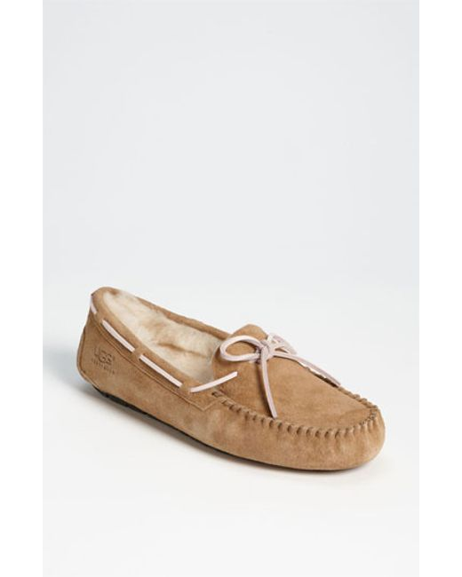 UGG | Brown Ugg Dakota Slipper | Lyst