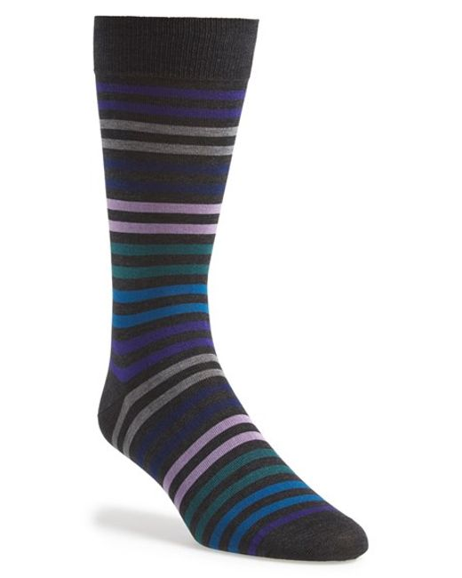 Pantherella | Gray 'kilburn' Egyptian Cotton Socks for Men | Lyst