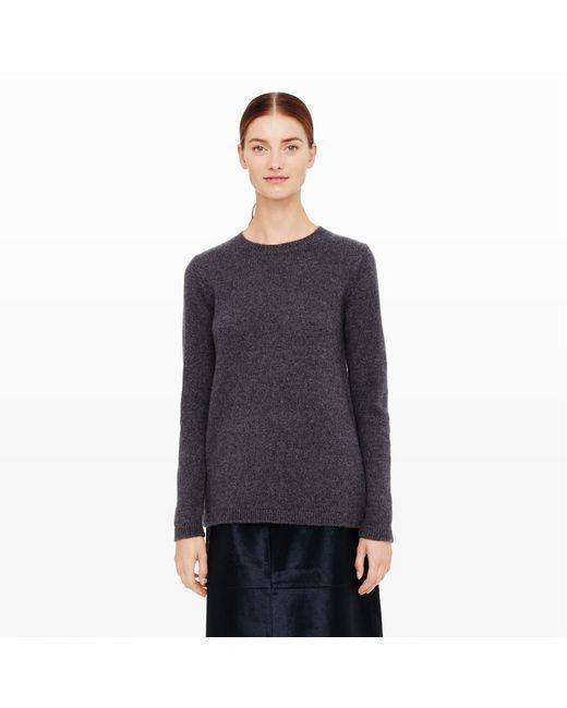 Club Monaco | Gray Sesnee Knit Sweater | Lyst