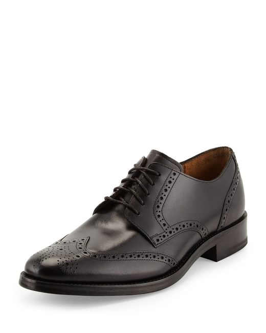 Cole Haan   Brown Madison Wing Tip Oxford Lace-up for Men   Lyst