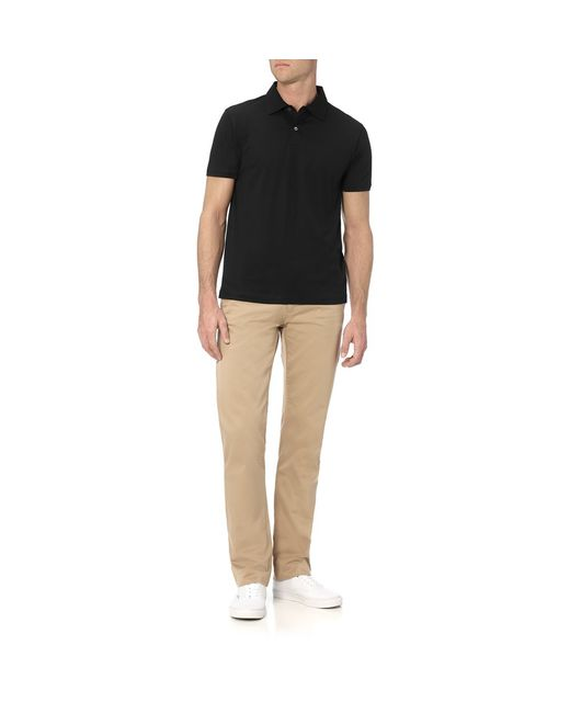 Sunspel | Black Men's Long-staple Cotton Jersey Polo Shirt for Men | Lyst