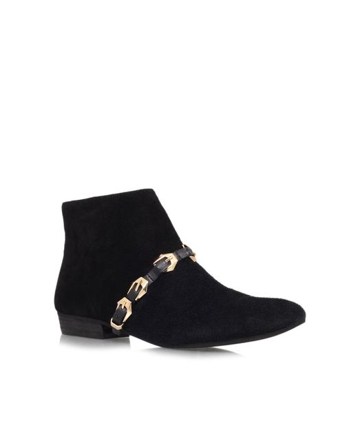 Vince Camuto   Black Davies Low Heeled Ankle Boots   Lyst