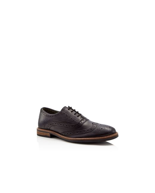 Ben Sherman Iley Black Leather Derby Shoes