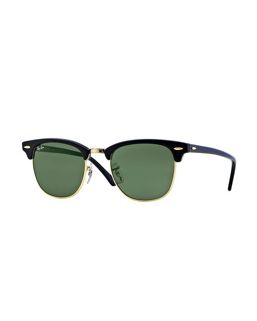 Ray-Ban | Black Clubmaster Iconic Sunglasses | Lyst