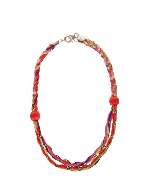 Missoni | Pink Rope Necklce | Lyst
