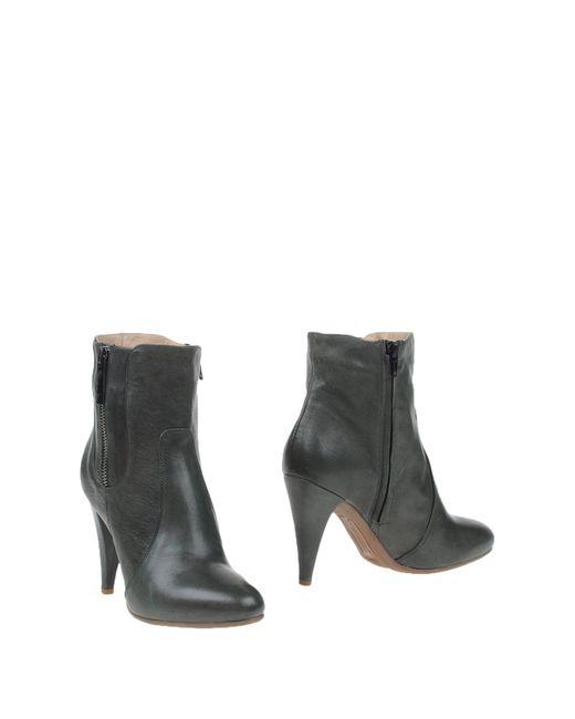 Alessandro Dell'acqua | Gray Ankle Boots | Lyst