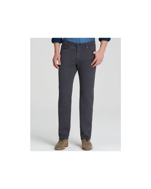 AG Jeans | Gray Graduate New Tapered Fit Jeans for Men | Lyst