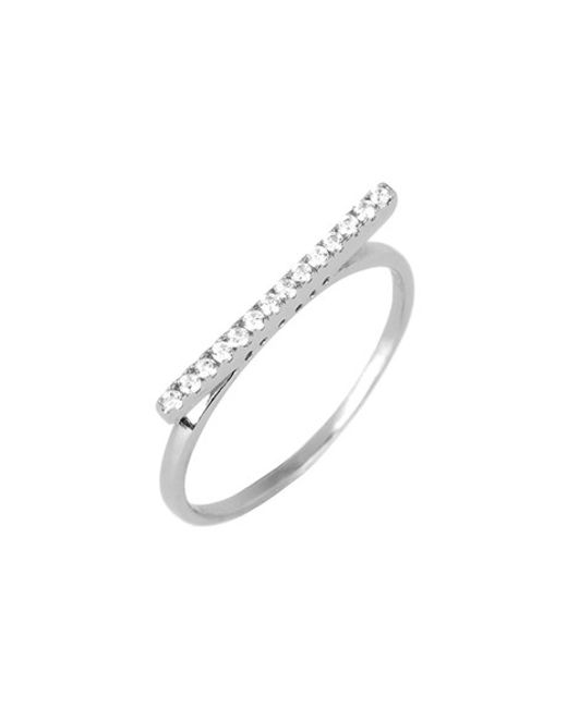 Argento Vivo | Metallic Bar Ring | Lyst