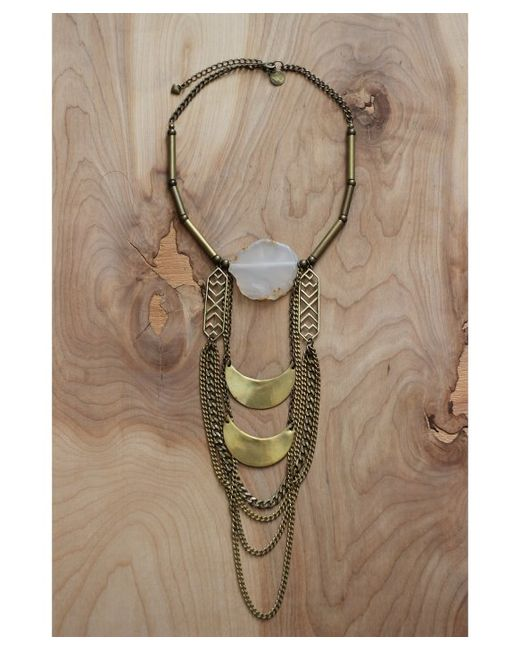 Love Leather | Multicolor Mystic Moons Necklace | Lyst