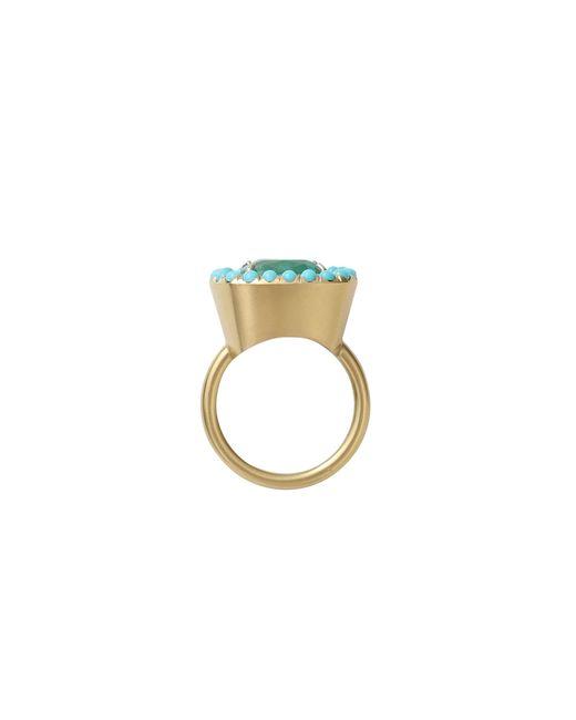 Irene Neuwirth | Green Colombian Emerald Ring | Lyst