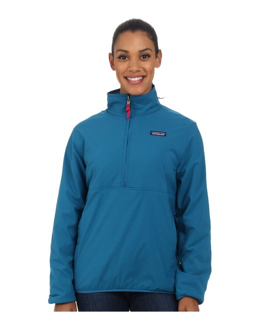 Patagonia | Blue Reversible Snap-t Glissade Pullover | Lyst