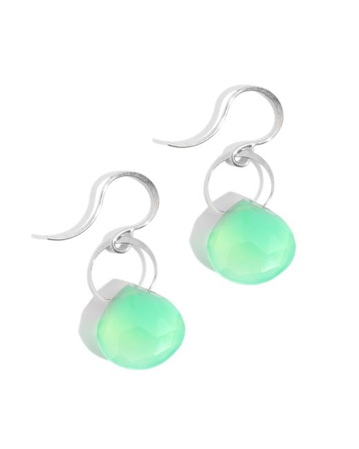 Melissa Joy Manning | Green Chrysophrase Single Drop Earrings | Lyst