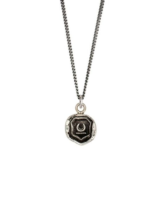 Pyrrha | Metallic New Beginnings Talisman Necklace | Lyst