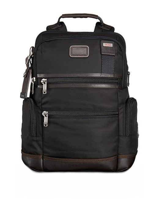 Tumi | Brown 'alpha Bravo - Knox' Backpack for Men | Lyst