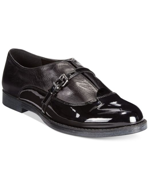 Bella Vita | Black Reese Oxfords | Lyst