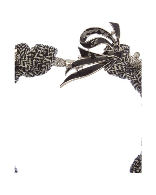 Max Mara | Metallic Orlanda Knot Necklace | Lyst
