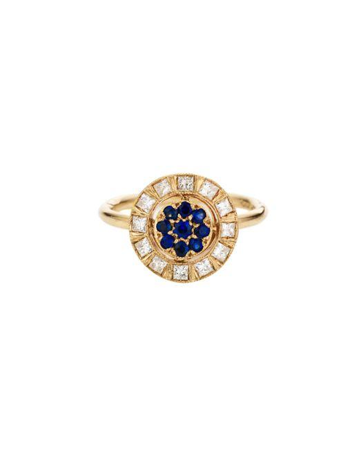 Sabine G | Harlequin Blue Sapphire Ring | Lyst