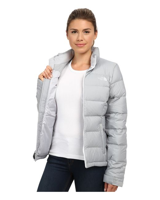 The North Face | Gray Nuptse 2 Jacket | Lyst