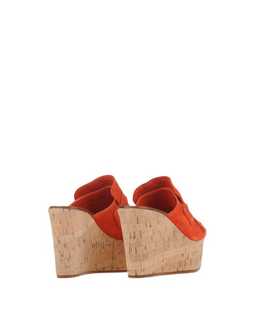 Casadei | Red Mules | Lyst