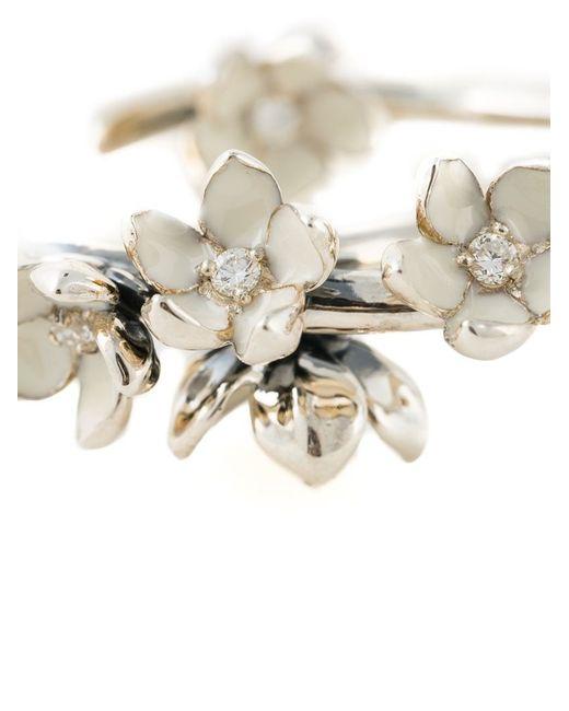 Shaun Leane | Metallic 'cherry Blossom' Diamond Earrings | Lyst