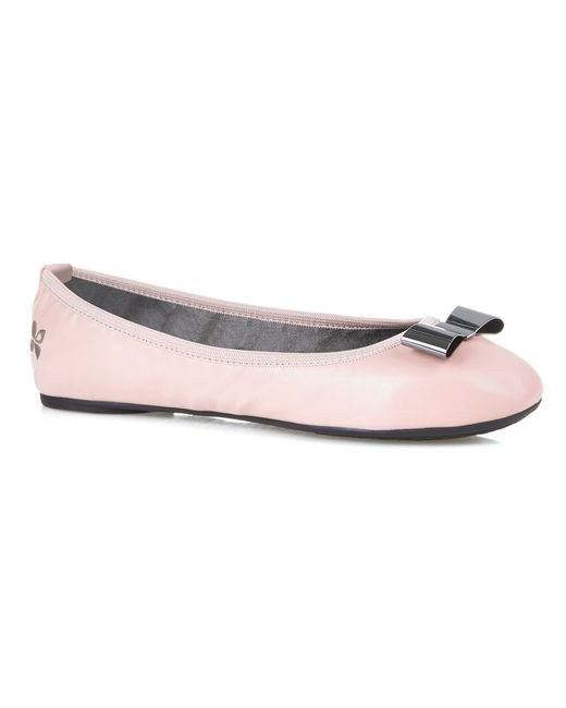 Butterfly Twists | Pink Chloe Ballerina Shoes | Lyst