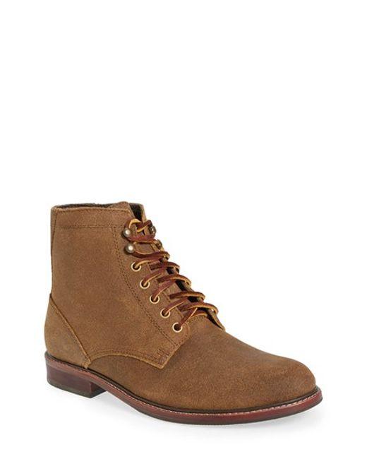 Eastland | Natural 'elkton 1955' Plain Toe Boot for Men | Lyst