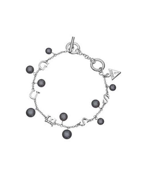 Guess | Metallic Young Contrasts Bracelet | Lyst