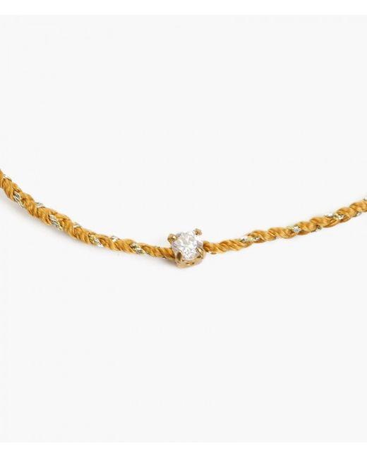 Iwona Ludyga   Natural Bali Mini Bracelet W/ Cubic Zirconia   Lyst