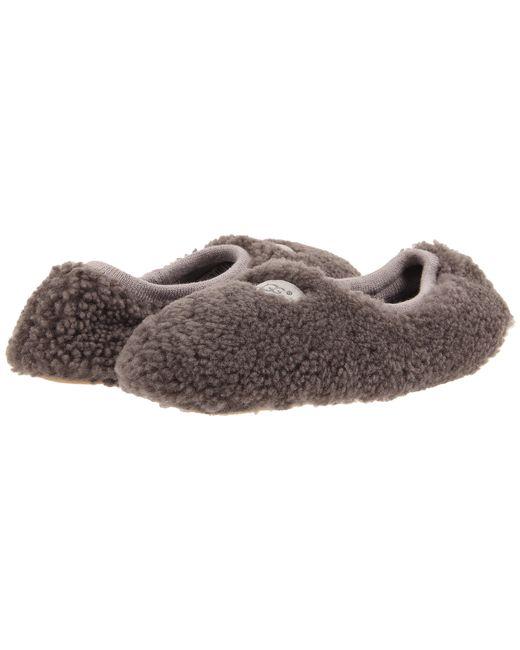 UGG | Gray Birche Grey Sheepskin Slipper | Lyst