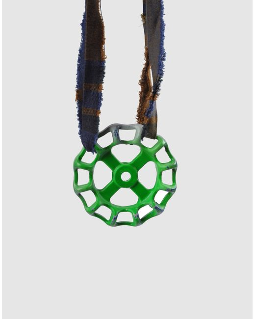 Stefania Pia | Green Necklace | Lyst
