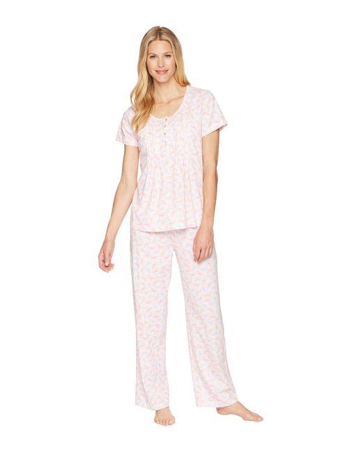 Carole Hochman - Pink Pajama Set - Lyst