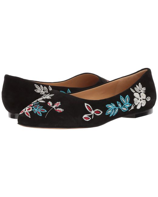 Trotters - Black Estee Embroidery - Lyst