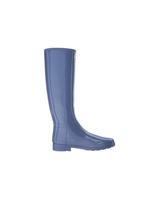559bb2c59581c ... Hunter - Blue Original Refined Gloss Rain Boots - Lyst ...