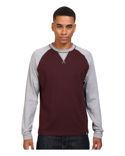 The North Face - Multicolor Long Sleeve Copperwood Crew for Men - Lyst
