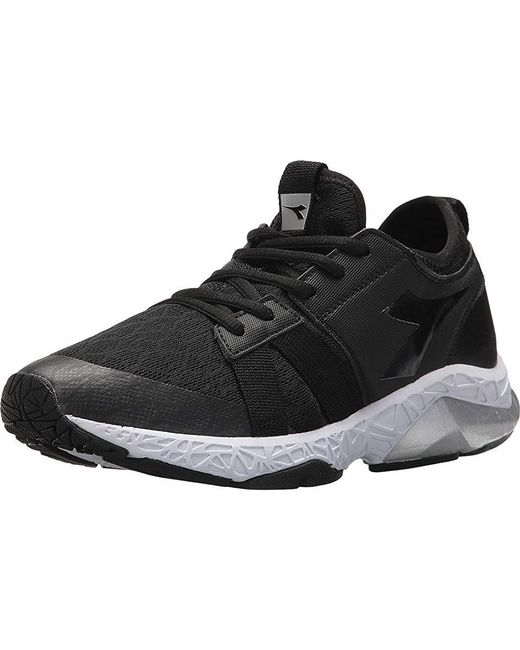 Diadora X Run Evo (jet Blackwhite) Shoes in Black Lyst